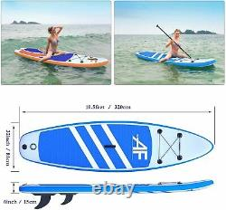 SUP Stand Up Paddle Board Inflatable Paddleboard Surf Kayak For Adult Beginner