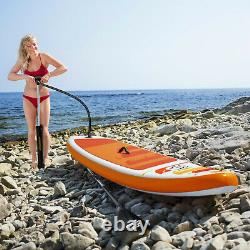 SUP Stand Up Paddle Board Set Inflatable HYDRO-FORCE Kayak Surf Board 200 lb