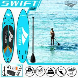 SUPremacy 2021 Swift Inflatable Stand Up Paddle Board iSUP SUP 305x76x15 / 10ft