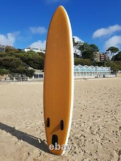 Surf Shack Ltd 11' Wood Design Inflatable Stand up Paddleboard Paddle Board SUP