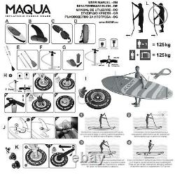 TOP Product MAQUA 10' 2 Inflatable Stand Up Paddle Board SUP Surf COMING SOON