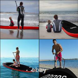 TRC 10FT Inflatable Stand Up Paddle SUP Board Surfing Board Paddleboard Kayak UK