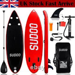 TRC 10FT Inflatable Stand Up Paddle SUP Board Surfing Surf Board Paddleboard UK