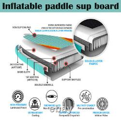 TRC 10'6 Inflatable Paddle Board SUP Stand Up Paddleboard & Accessories Set