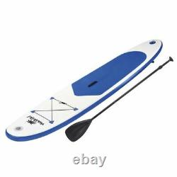 Waikiki Inflatable Stand Up Paddle Board SUP 10FT Blue with Paddle, Pump & Bag
