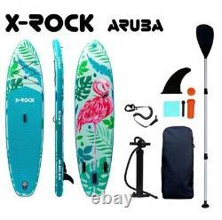 106 X-rock Aruba Sup Gonflable Stand Up Paddle Board. Nouveauté, Ensemble Complet