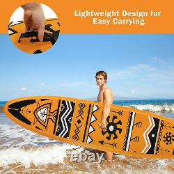 10.5/11ft Gonflable Stand Up Paddle Board Sup Surfboard Réglable Non-dérapant