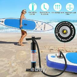 10.5ft Gonflable Paddle Board Sup Stand Up Paddleboard Surfage Planche Kayak