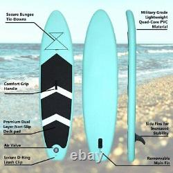 10.5ft Gonflable Stand Up Paddle Sup Board Surf Surf Board Paddleboard Kayak