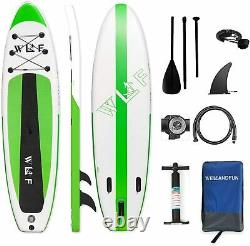 10'6 Sup Paddle Board Gonflable Stand Up Paddleboard Surfboard Pêche