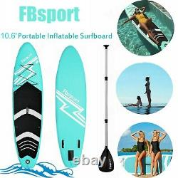10.6'stand Up Paddle Board Sup Board Gonflable Surfing Surfboard Paddleboard Uk