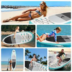 10.6ft Stand Up Paddle Board Sup Surfboard Paddleboard Gonflable + Accessoires
