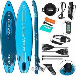 10'8 & 12'6 Isup Gonflable Stand Up Paddle Board Kayak Sup Accessoires De Siège
