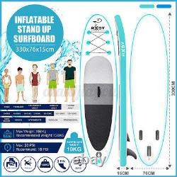 10.8ft Stand Up Paddle Board Sup Surfboard Paddleboard Gonflable 20psi 350lb