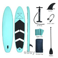 10ft Gonflable Stand Up Paddle Board Sup Board Surfing Surf Board Paddleboard