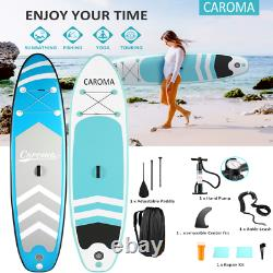10ft Gonflable Stand Up Paddle Board Surfing Sup Surfboard Accessoires Kayak Uk