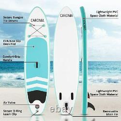 10ft Gonflable Stand Up Paddle Sup Board Surf Surf Board Paddleboard Kayak