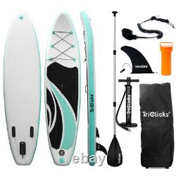 10ft Gonflable Stand Up Paddle Sup Board Surfing Surf Board Paddleboard Avec Pompe