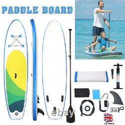 10ft Premium Sup Stand Up Paddleboard Inflatable Paddle Board + Accessoires