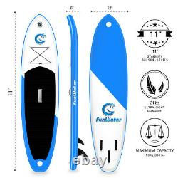 11'6 Gonflable Stand Up Paddle Board Sup Kayak Water Sports Avec Kit Complet