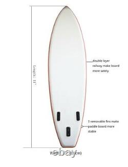 11ft Gonflable Paddle Board Sup Stand Up Paddleboard & Accessoires