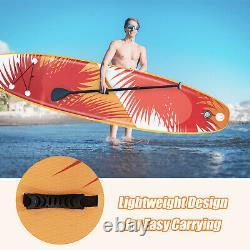 11ft Gonflable Stand Up Paddle Board Sup Surfboard Ajustable Non-slip Isup