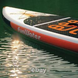 11ft X-long Gonflable Stand Up Paddle Board Set Funwater Marque 100% Original