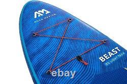 2021 Aqua Marina Beast 10'6 Stand Up Paddle Board Sup Gonflable Avec Paddle