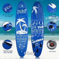 297x76x15cm Gonflable Stand Up Paddle Board Surfboard Isup Eau Pvc