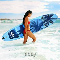 335cm/11ft Isup Gonflable Stand Up Surfing Board Soft Surf Paddle Board Withpump