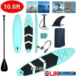 3.2m Table De Paddle Gonflable Sup Stand Up Paddleboard & Accessoires Set 10,6ft