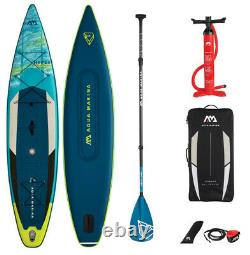 Aqua Marina Hyper 12'6 Inflatable Stand Up Paddle Board Avec Carbon Paddle