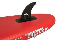 Aqua Marina Monster Stand Up Paddle Board Sup Gonflable Avec Paddle I-sup