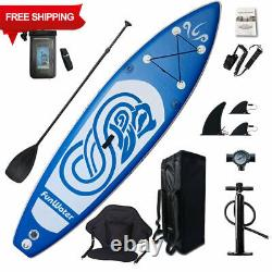 Bâton Gonflable Stand Up Paddle Board 10ft Sup Avec Paquet Complet! Stock Du Royaume-uni