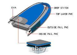Bâton Gonflable Stand Up Paddle Board 10ft Sup Surfboard Avec Kit Complet 6'' D'épaisseur
