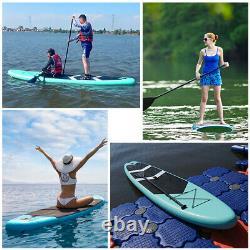 Bâton Gonflable Stand Up Paddle Board Paddleboard Surfboard Sup Kayak+pump Paddle Set