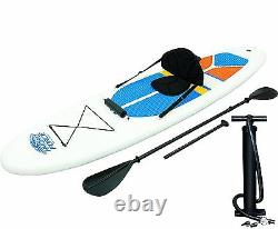 Bestway Hydro-force 10 Pieds Gonflable Stand Up Paddle Board Sup & Kayak, Blanc