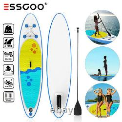 Essgoo 320cm Surfboard Sup Paddle Ingonable Board Stand Up Paddleboard Nouveau