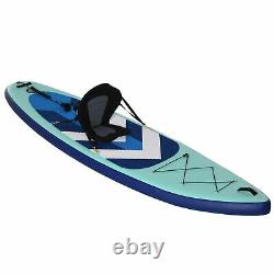 Homcom Gonflable Stand Up Paddle Board Kayak Kit De Conversion Pour Les Enfants Adultes
