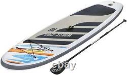 Hydro-force White Cap Set Gonflable Sup Stand Up Paddle Board Prix De Vente Conseillé 479,99 £