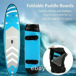 Kit De Plateau Gonflable Stand Up Paddle, 10 Sup, Ajustable Paddle Kayak Uk