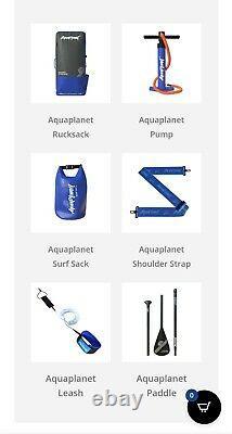 Kit De Plateau Gonflable Stand Up Paddle 6 Epaisseur 106 Long Aquaplanet