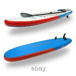 Legacy Solair 10'8 Gonflable Stand Up Paddle Board Sup Package Paddle Bag Pump