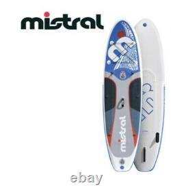 Mise En Place Complète Du Plateau De Paddle Gonflable Mistral + Kit De Kayak
