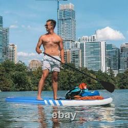 Nouveau 10'6 Stand Up Paddle Board Surfboards Gonflable Sup Ensemble Complet Épais Bleu