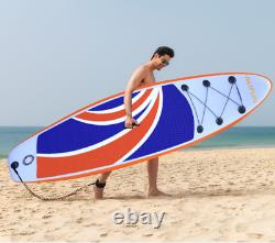 Paddle Board Gonflable Sup Paddleboard Stand Up Surfboard 10ft 10' Ensemble Complet