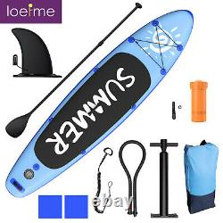Paddle Board Sup 300cm Sports Gonflables Surf Stand Up Racing Sac Pompe Eau D'aviron