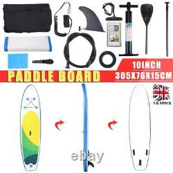 Panneau Gonflable De Paddle Sup Stand Up Paddleboard &accessoires Surfing Racing Set