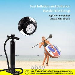 Panneau Gonflable Stand Up Paddle Board Sup Paddleboard Surf Paddling Kayak Pump 10