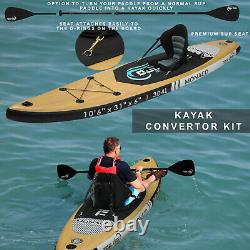 Panneau Gonflable Stand Up Paddle Double-layer 10'6 Gopro Sup Carbon Kayak Paddle